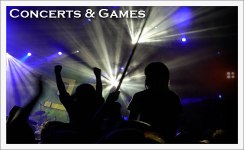 Concerts & Games
